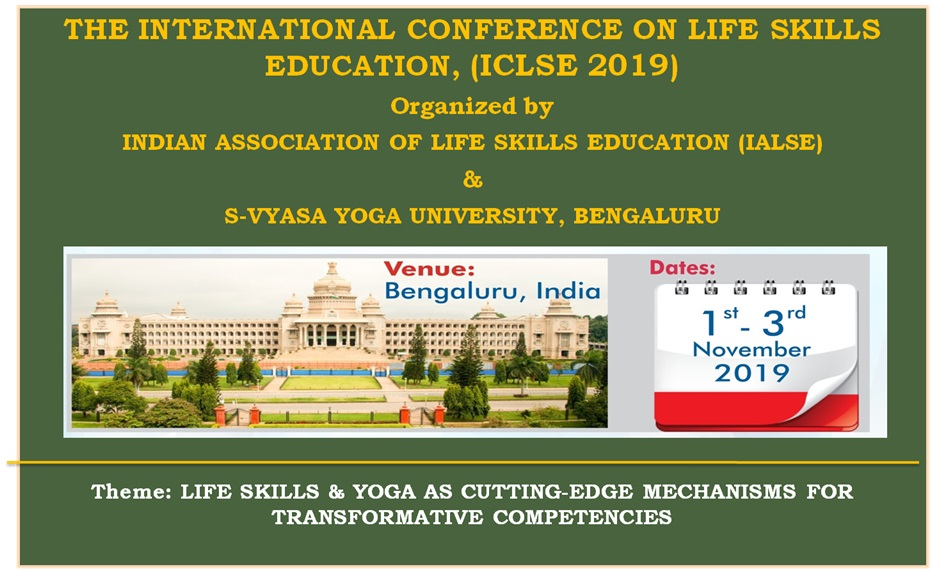 The International Conference on Life Skills Education 2019 – Indian